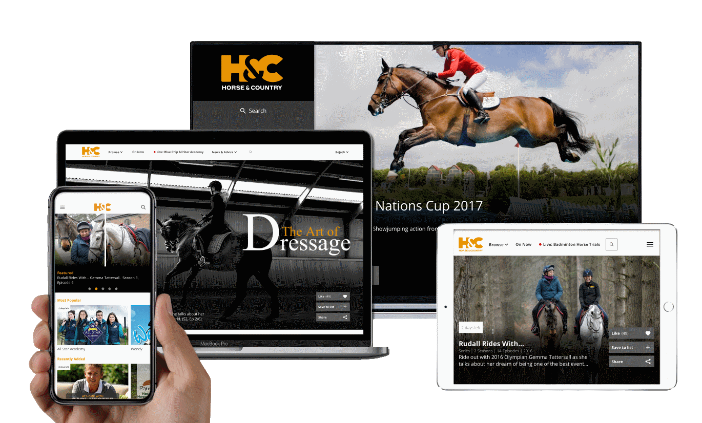Ways To Watch | Horse & Country TV